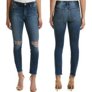 Joe's Jeans Tierney High-rise Raw Ankle